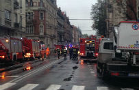 Wybuch gazu w Katowicach. Zawalone 3 kondygnacje budynku