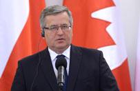 CBOS: prezydent Komorowski na czele rankingu zaufania do polityk�w
