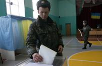 Wybory parlamentarne na Ukrainie. G�osowali te� �o�nierze