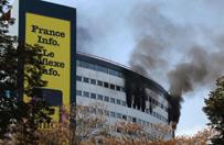 P�onie budynek publicznego radia w Pary�u! Ewakuacja