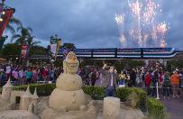Pożar w Disney World na Florydzie