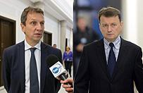 B�aszczak: Halicki ma dar bilokacji. Minister odpiera zarzuty i zapowiada pozew
