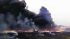 Nowe nagranie z miejsca katastrofy samolotu na Ukrainie