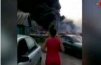 Pierwsze minuty po katastrofie malezyjskiego boeinga. Nowe nagranie