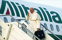 Papie� przyby� do Strasburga i wyg�osi� przem�wienie w PE
