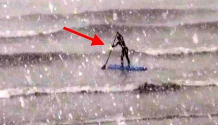 Surfowanie zimą? Możliwe!