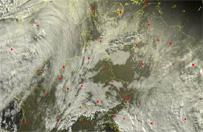 Orkan Aleksandra nadci�ga nad Europ�. Polska odczuje jego skutki