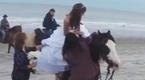 Pechowa ślubna sesja zdjęciowa