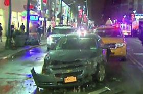 Samochód wjechał w sklep w Nowym Jorku. 7 osób w szpitalu