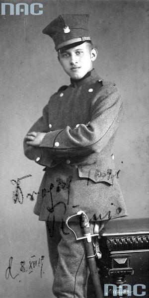 Powstaniec wielkopolski w mundurze