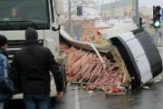 Nietypowy wypadek w Olsztynie