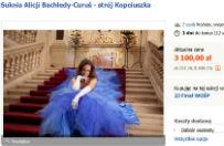 Krakowskie aukcje na fina� WO�P. Suknia Kopciuszka mo�e by� Twoja!