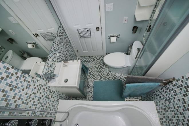 Praktyczna mini urz dzamy ma azienk dom wp pl - Kleine badkamer leroy merlin ...