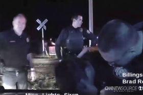 Policjant zastrzelił podejrzanego i popłakał się