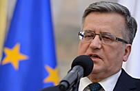 Prezydent Komorowski nagrodzony Diamentowym Laurem Umiej�tno�ci i Kompetencji
