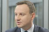 Andrzej Duda zarzuca Bronis�awowi Komorowskiemu, �e nie prowadzi dialogu z Polakami