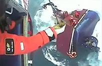 """""""Toniemy!""""; brytyjski �mig�owiec ocali� rybak�w"""