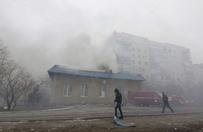 Ostrza� rakietowy w Mariupolu