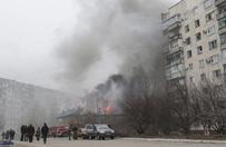 Trzy ataki separatyst�w na Mariupol. Jest wiele ofiar i rannych