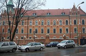 Cia�o kleryka znalezione w Krakowie