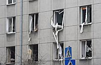 Budynek zosta� uszkodzony