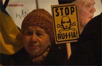 """Stop agresji"". Ukrai�cy demonstruj� w Gda�sku"