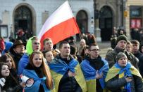 W Warszawie i Krakowie odby�y si� demonstracje poparcia dla Ukrainy. Rosjanie w�r�d uczestnik�w