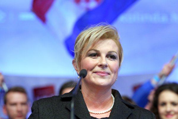 ... Senatu spotkał się z prezydent Chorwacji - Wiadomości - WP.PL