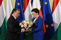 Premier Ewa Kopacz go�ci�a Viktora Orbana. Rozmawiali o Ukrainie
