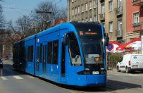 Weekend bez tramwaj�w w rejonie krakowskich Plant