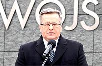 Bronis�aw Komorowski: zakaz wjazdu do Rosji dla Bogdana Borusewicza to niezrozumia�a decyzja