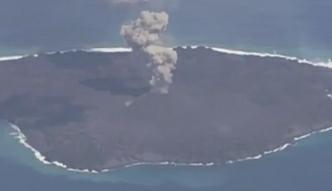 Niedawno powstała wyspa rozrosła się 11-krotnie