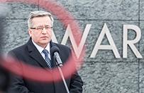Bronisław Komorowski w #dzieńdobryWP: Angela Merkel wie, że szefem premiera i prezydenta jest Kaczyński