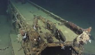 Odnaleziono wrak okrętu z czasów II wojny światowej