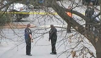Policjant zastrzelił nagiego mężczyznę