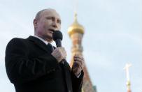 Rosjanie popieraj� d��enia Putina - chc� aneksji Bia�orusi