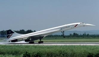 Concorde w płomieniach