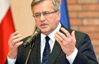 Bronis�aw Komorowski: Polska stoi rodzin�