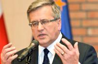 Prezydent Bronis�aw Komorowski uda si� na Ukrain�