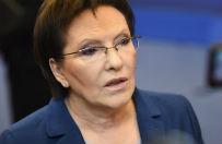 Premier Ewa Kopacz podsumuje pierwsze p�rocze rz�du