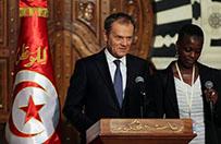 Donald Tusk w Tunezji: Unia Europejska b�dzie z wami