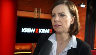 Agata Kulesza o roli w serialu