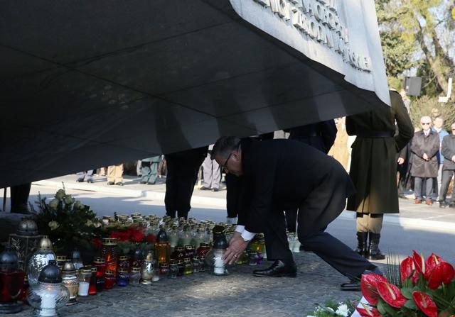 Oficjalne uroczystości upamiętniające ofiary katastrofy smoleńskiej
