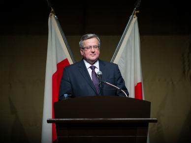 Or�dzie Bronis�awa Komorowskiego na podsumowanie kadencji