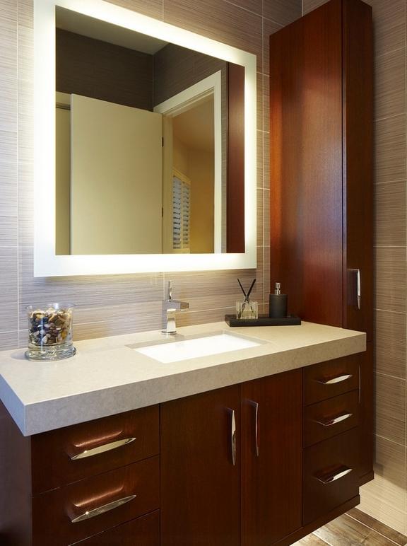 bathrooms with medicine cabinets