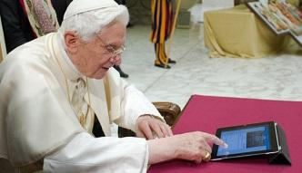 #dziejesiewtechnologii: iPad papieża