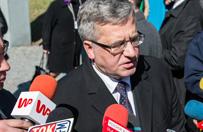 Trwa proces ws. ataku na Komorowskiego. B. prezydent: czułem się zagrożony