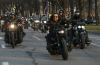 """MSZ nie zgodzi�o si� na rajd """"Nocnych Wilk�w"""" przez Polsk�. Motocykli�ci: ruszamy jutro"""