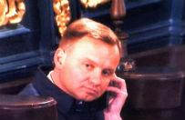 Wpadka Dudy: rozmawia� przez telefon w ko�ciele