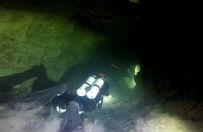 157 metrów pod wodą. Pobito rekord Polski w nurkowaniu jaskiniowym